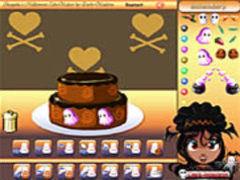 Shaquita´s Halloween Cake spielen