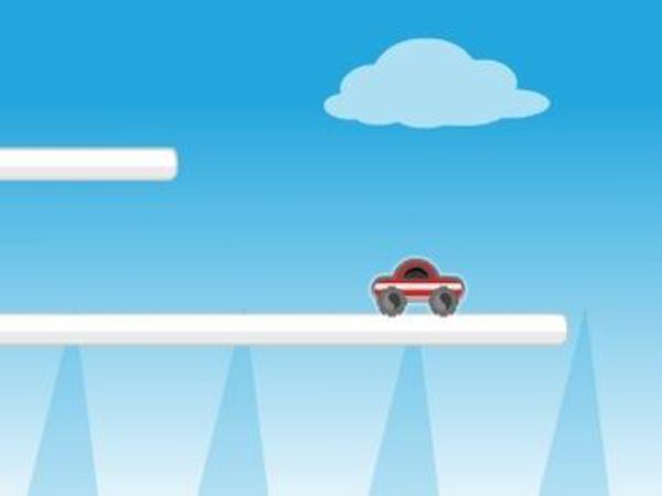 Bild zu Geschick-Spiel Rocket Car 2