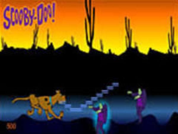 Bild zu Geschick-Spiel Scooby Jump