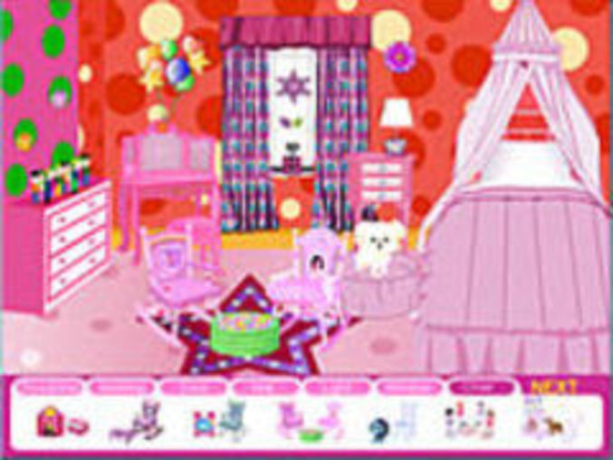 princess room designer kostenlos online spielen auf kinderspiele. Black Bedroom Furniture Sets. Home Design Ideas