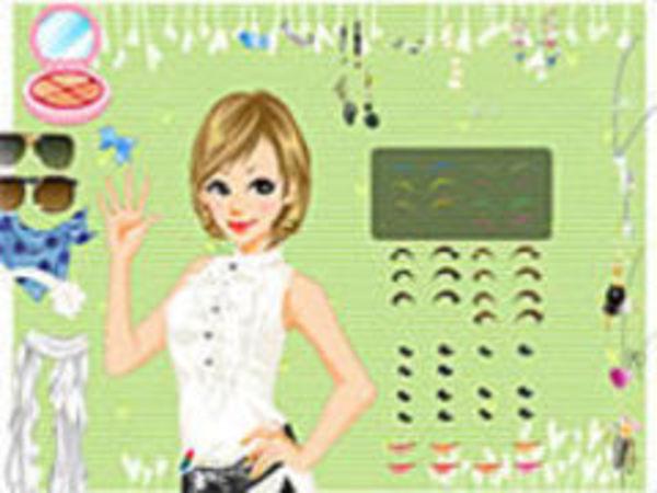 Bild zu Mädchen-Spiel Pretty prom hairstyles