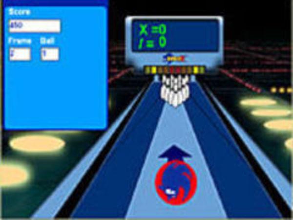Bild zu Klassiker-Spiel Pjinns Sonicx Bowling