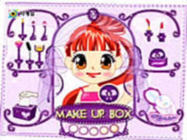 Bild zu Kinder-Spiel Make Up Box