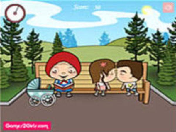Bild zu Mädchen-Spiel ParKiss