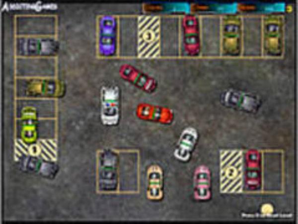 Bild zu Geschick-Spiel Park This Car