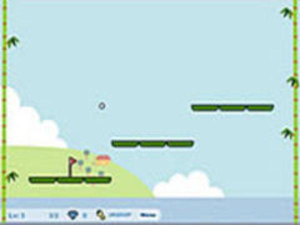 Bild zu Geschick-Spiel Panda 2 Golf