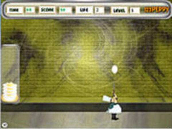 Bild zu Mädchen-Spiel Omelet Shooter