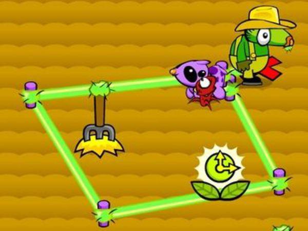 Bild zu Geschick-Spiel Ol-Booger Corral