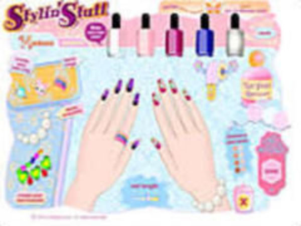 Bild zu Kinder-Spiel Nail Art Salon