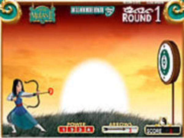 Bild zu Geschick-Spiel Mulan Fire Away