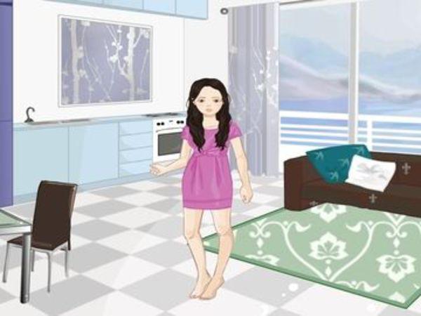Bild zu Mädchen-Spiel Misty Terrace Apartments