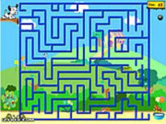 Der Hund im Labyrinth spielen