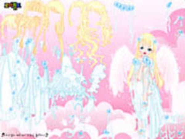 Bild zu Kinder-Spiel All White Angel
