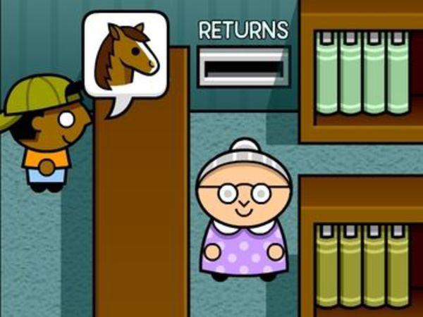 Bild zu Simulation-Spiel Lightning Librarian