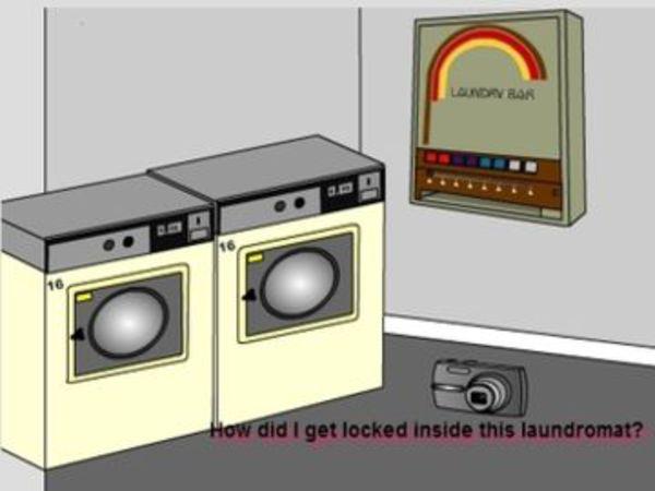 Bild zu Denken-Spiel Laundry Escape