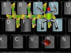 Keyboard Action Hero spielen