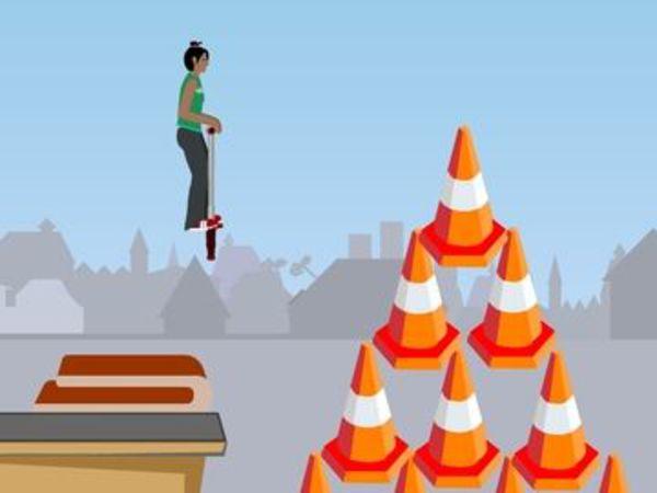 Bild zu Geschick-Spiel Go Go Pogo