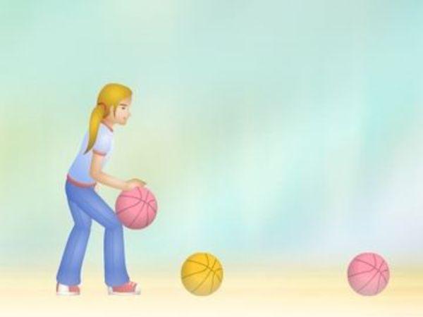 Bild zu Geschick-Spiel Julie Bball