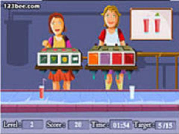 Bild zu Mädchen-Spiel Juice Machine