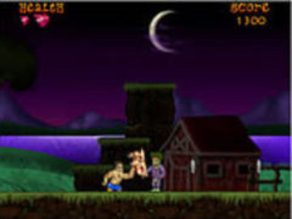 Bild zu Geschick-Spiel Horror Scape The Adventures of Marty