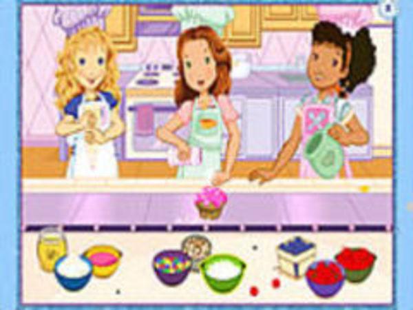 Bild zu Geschick-Spiel Holly Hobbie Muffin Maker