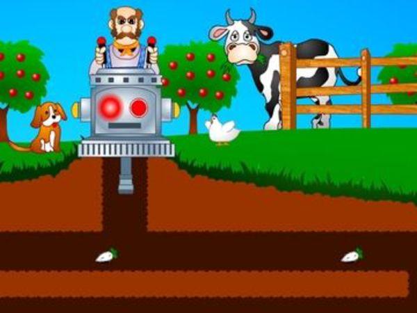 Bild zu Geschick-Spiel Harvest Machine