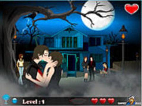 Bild zu Mädchen-Spiel Halloween Kiss 2
