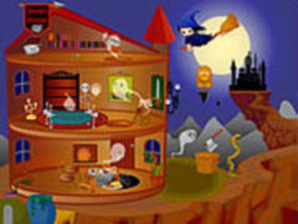 Bild zu Mädchen-Spiel Halloween House Make Over 2