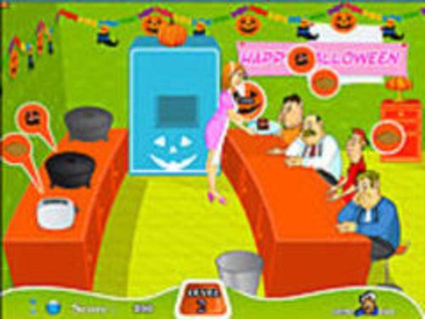 Bild zu Mädchen-Spiel Halloween Feast