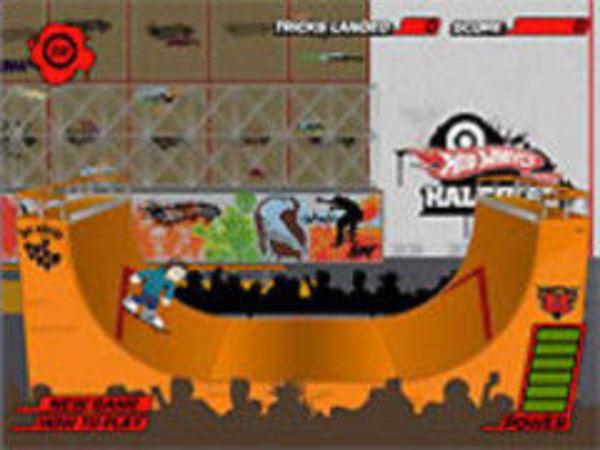 Bild zu Geschick-Spiel Halfpipe