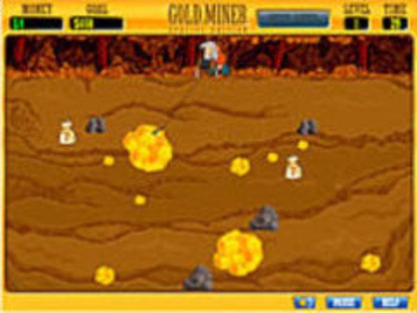 Bild zu Geschick-Spiel Goldminer special edition