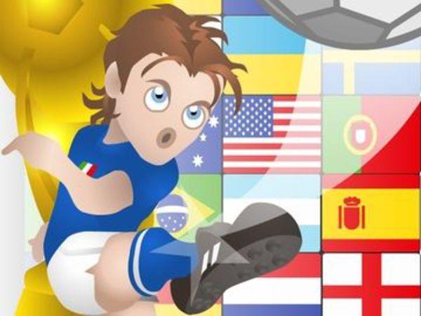 Bild zu Denken-Spiel Goalmaniac Puzzle Soccer