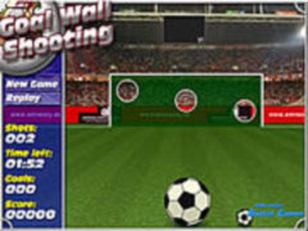 Bild zu Sport-Spiel Goal-Wall-Shooting