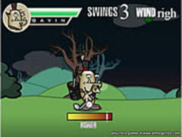 Bild zu Abenteuer-Spiel Golf Goblin Halloween