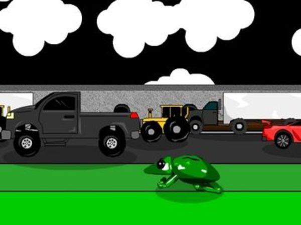 Bild zu Geschick-Spiel Frogger 3D