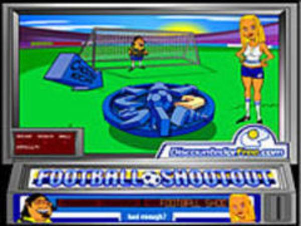 Bild zu Geschick-Spiel Footballshootout
