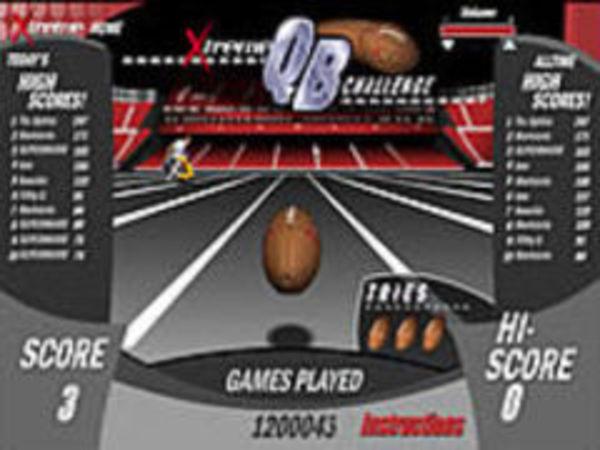 Bild zu Geschick-Spiel Football
