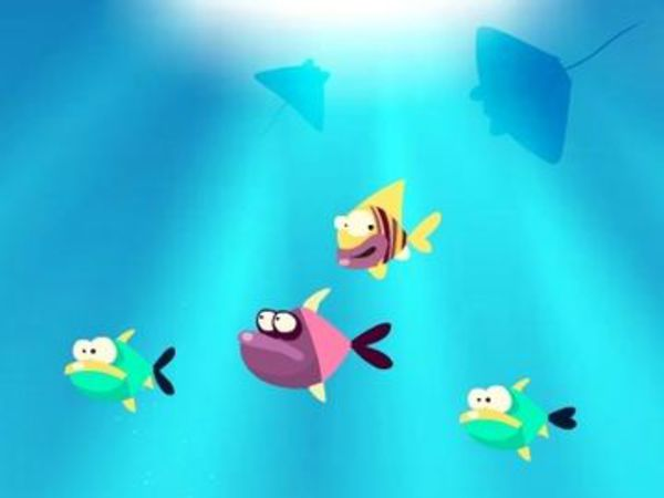 Bild zu Geschick-Spiel Fish For Food