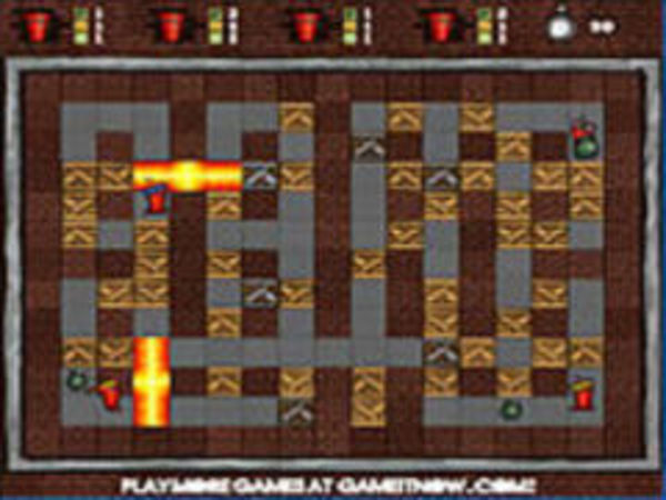 Bild zu Klassiker-Spiel Fire And Bombs 2