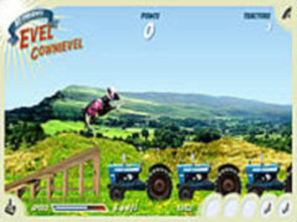 Bild zu Geschick-Spiel Evel Cownievel