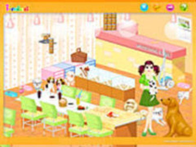 Dog room decoration kostenlos online spielen auf for Zimmer einrichten simulation