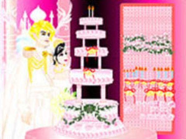 Bild zu Mädchen-Spiel Design your Weddingcake