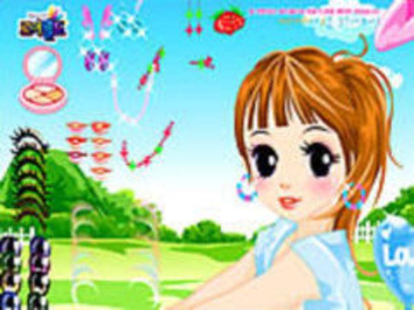 Bild zu Mädchen-Spiel Anime Girl