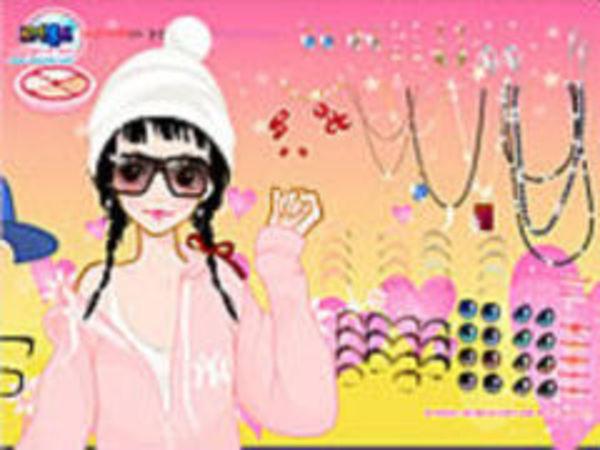 Bild zu Mädchen-Spiel Anda Makeup Game