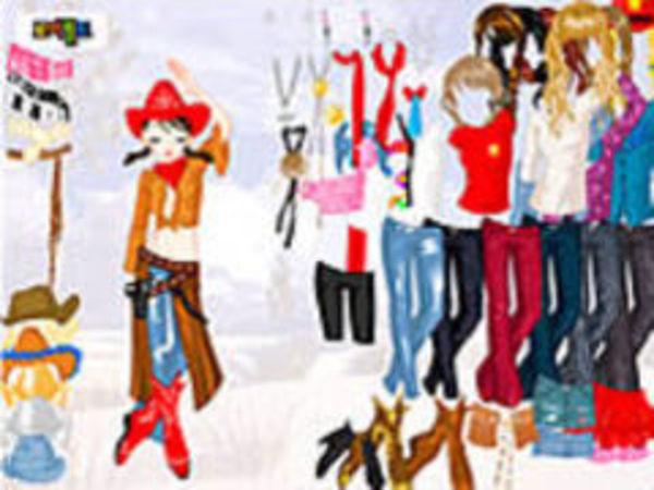Bild zu Kinder-Spiel Cowgirl