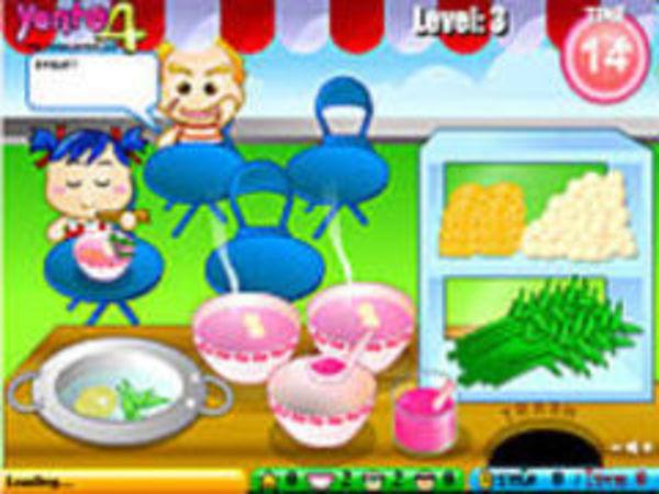Bild zu Mädchen-Spiel Cooking thaifood