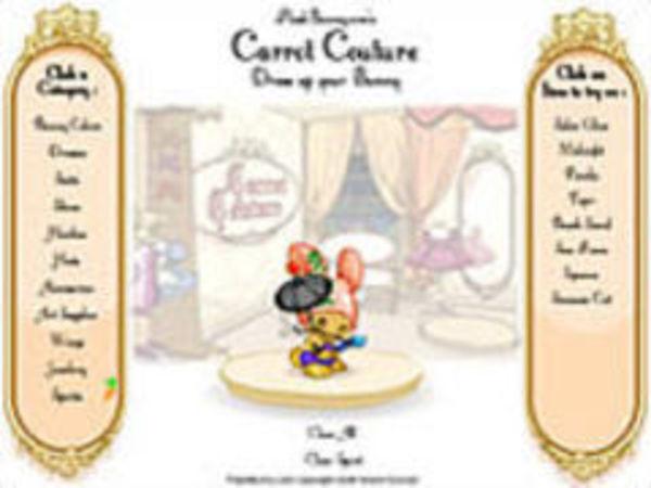 Bild zu Mädchen-Spiel Carrot couture