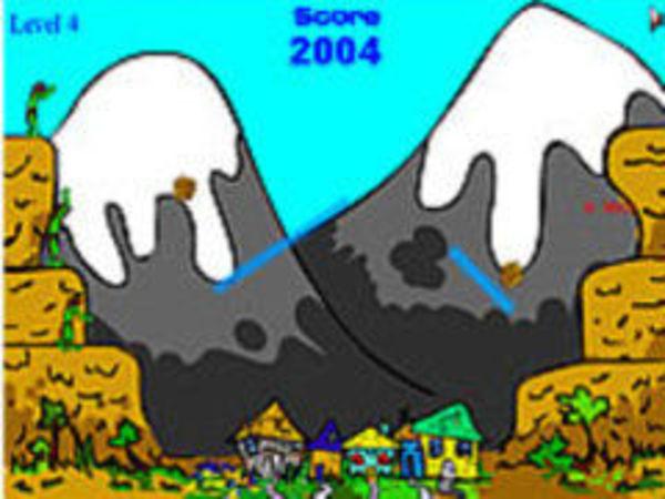 Bild zu Geschick-Spiel Boulder Basher