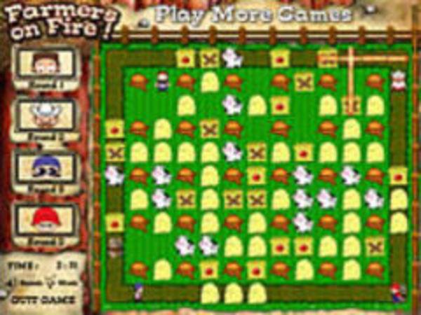 Bild zu Geschick-Spiel Farmers on fire