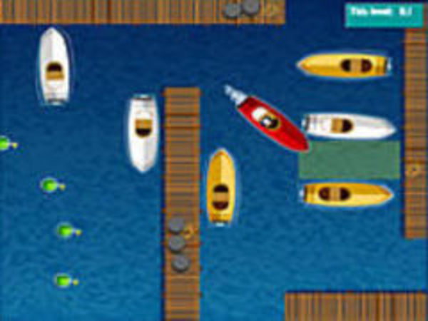 Bild zu Geschick-Spiel Boot Einparken